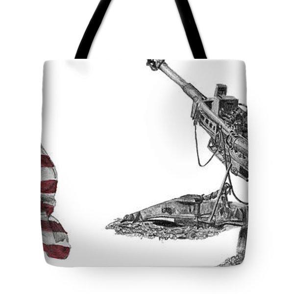 American Artillery Tote Bag