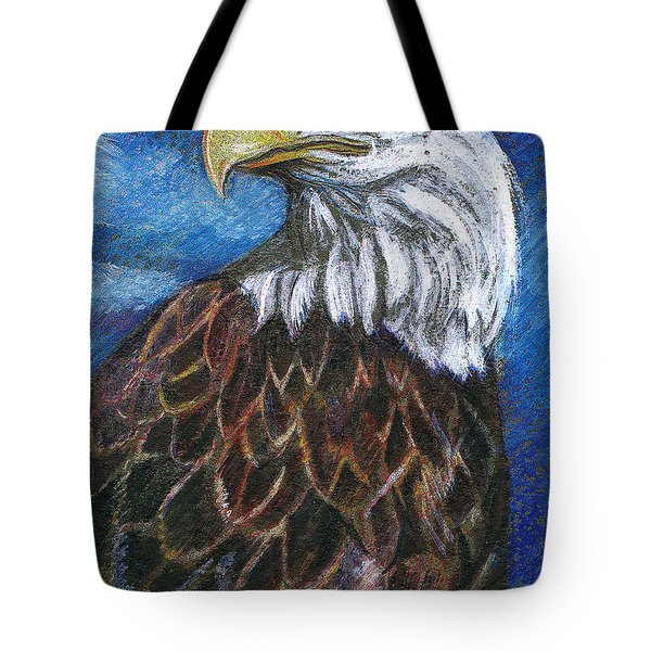 American Bald Eagle Tote Bag by John Keaton
