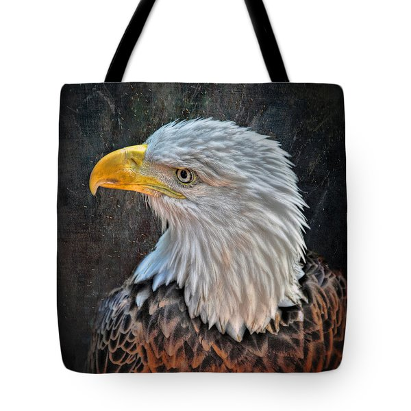Tote Bag featuring the photograph American Bald Eagle by Savannah Gibbs