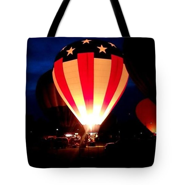 American Balloon Tote Bag