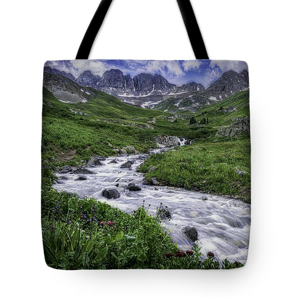 Tote Bag featuring the photograph American Basin #2 by Bitter Buffalo Photography