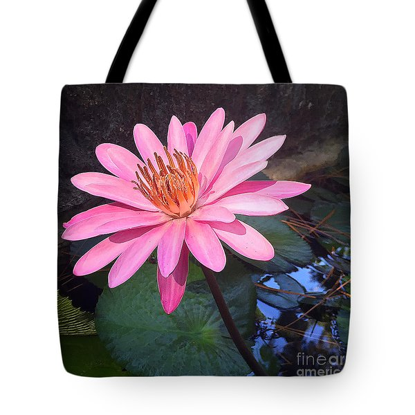 Tote Bag featuring the photograph Full Bloom by LeeAnn Kendall