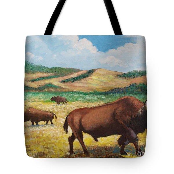 American Bison Tote Bag
