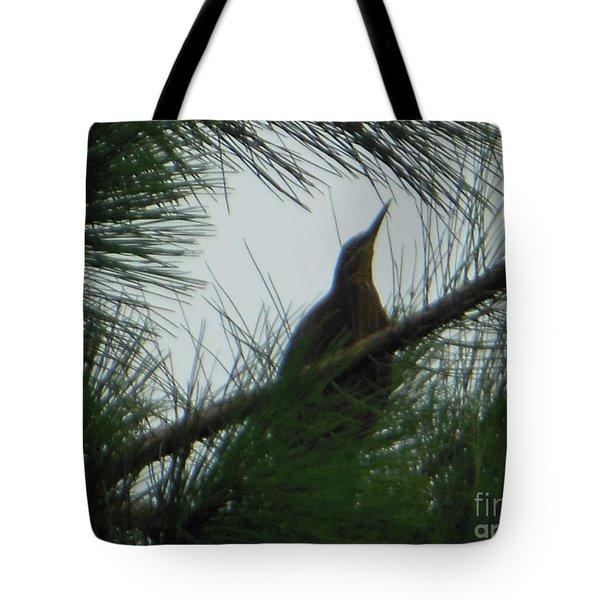 American Bitten Bird Tote Bag