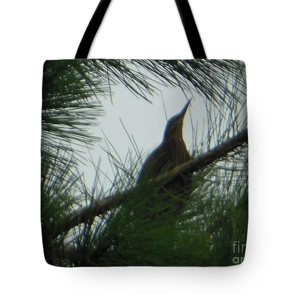 American Bitten Bird Tote Bag