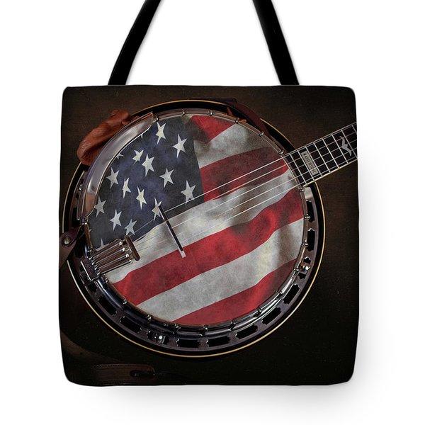 American Bluegrass Music Tote Bag