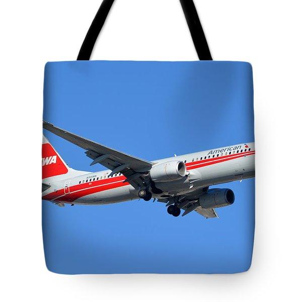 American Boeing 737-823 N915nn Phoenix Sky Harbor January 11 2015 Tote Bag