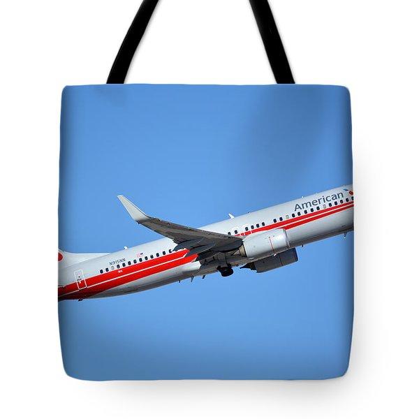 American Boeing 737-823 N915nn Retro Twa Phoenix Sky Harbor January 12 2015 Tote Bag
