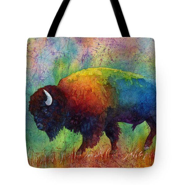 American Buffalo 6 Tote Bag by Hailey E Herrera