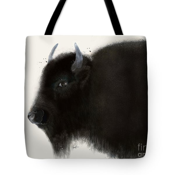 Tote Bag featuring the painting American Buffalo by Bri B