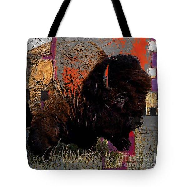 American Buffalo Collection Tote Bag