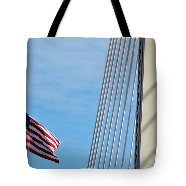 American Afternoon Tote Bag by Martin Cline
