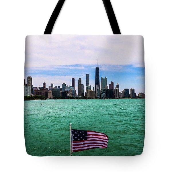 American Chi 2 Tote Bag