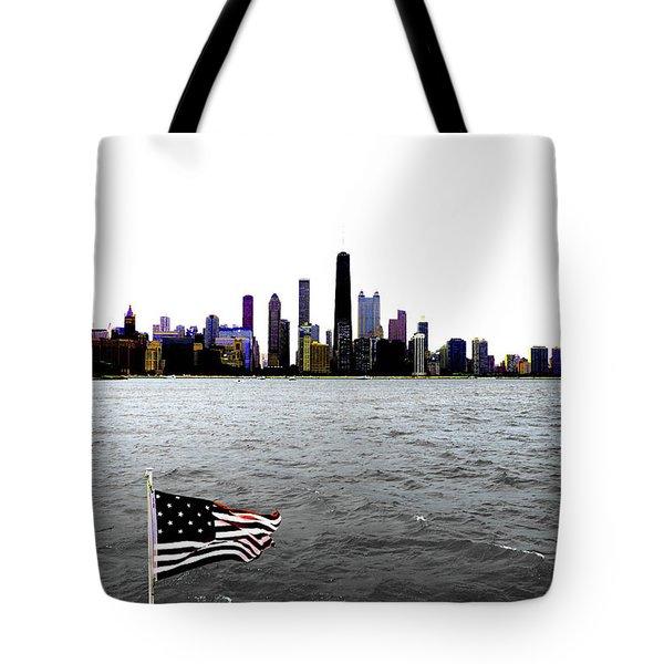 American Chi 3 Tote Bag