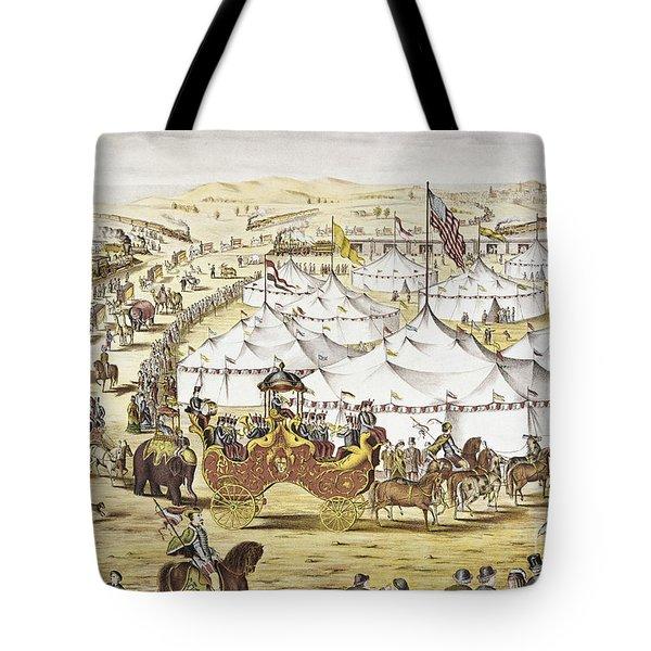 American Circus, C1874 Tote Bag by Granger