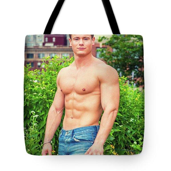 American City Boy Tote Bag