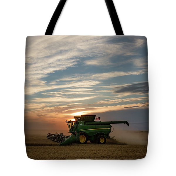 Tote Bag featuring the photograph American Combine by Todd Klassy
