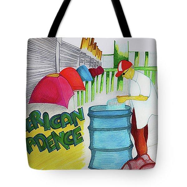 American Decadence Tote Bag