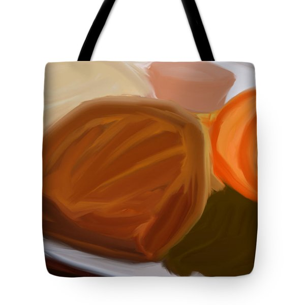 Surprise Dinner Tote Bag