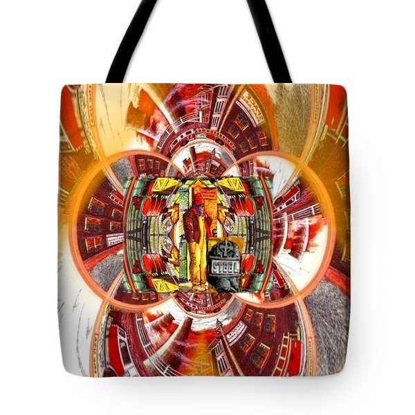 American Dream Burning - Workers Betrayed Tote Bag