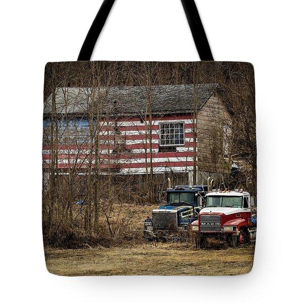 American Dream Tote Bag by Ray Congrove