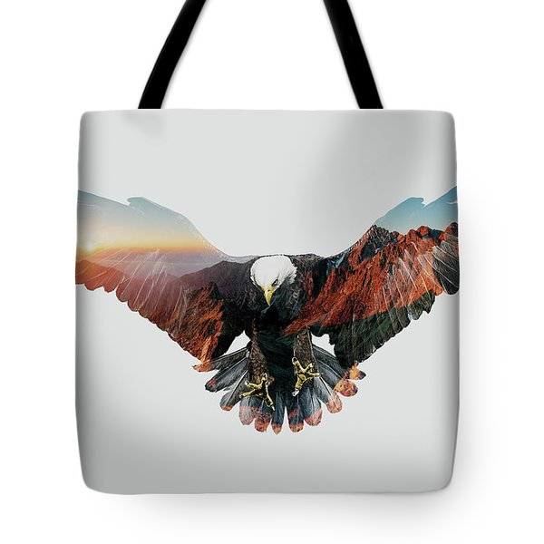 American Eagle Tote Bag by John Beckley