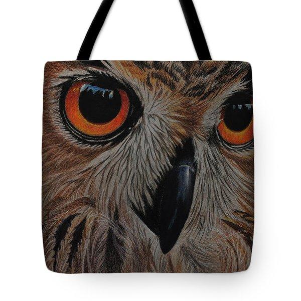 American Eagle Owl Tote Bag