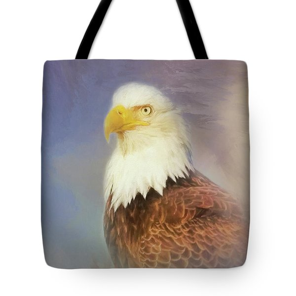 American Eagle Tote Bag by Steven Richardson