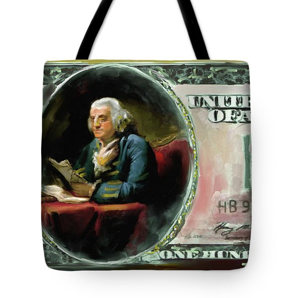 American Engravings Iv 457 I Tote Bag