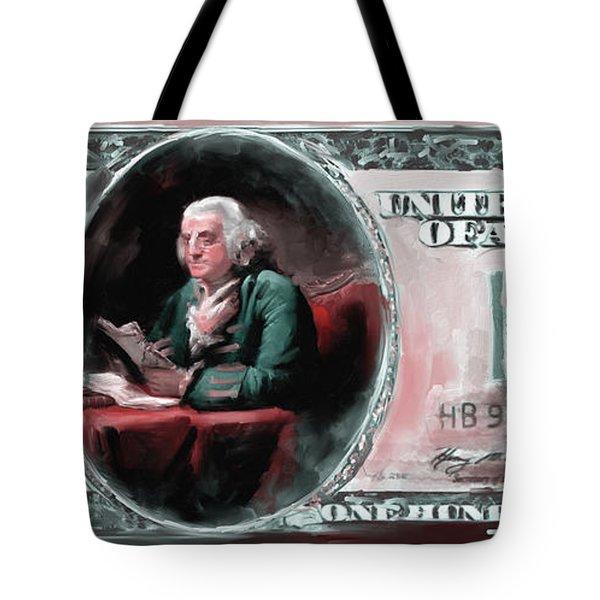 American Engravings Iv 457 II Tote Bag