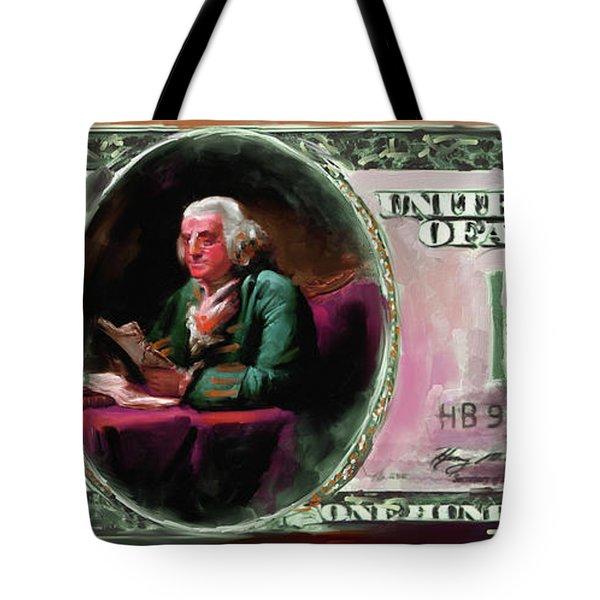 American Engravings Iv 457 IIi Tote Bag