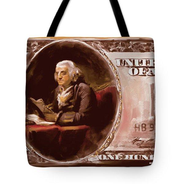 American Engravings Iv 457 Iv Tote Bag