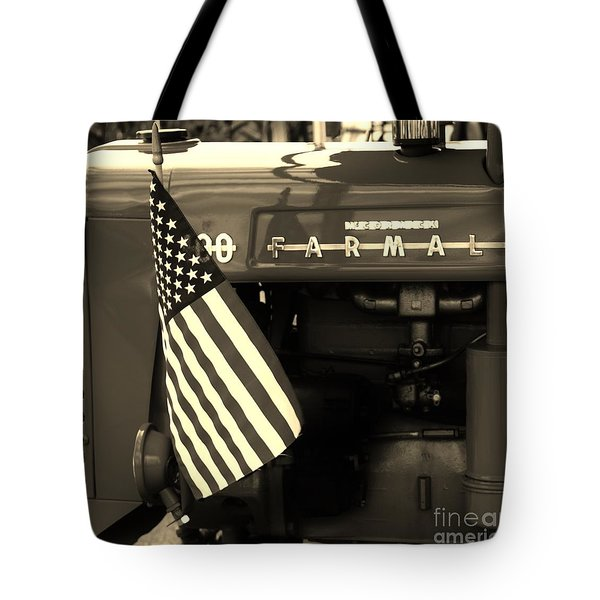 American Farmall Tote Bag by Meagan  Visser