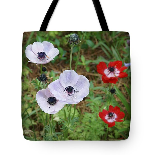 American Flowers Tote Bag