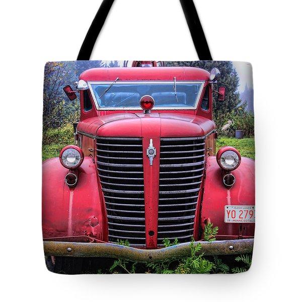 American Foamite Firetruck1 Tote Bag