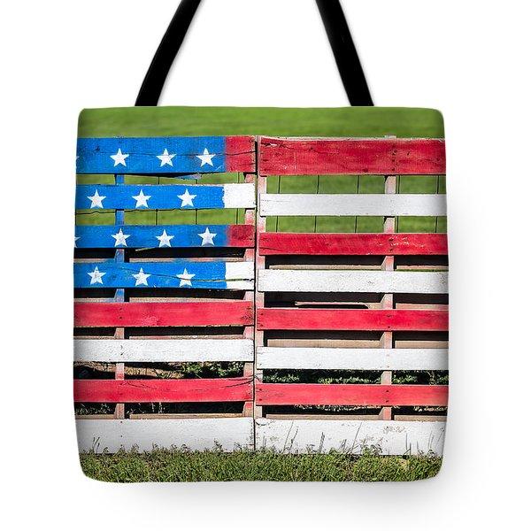 American Folk Art Tote Bag