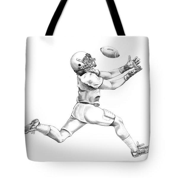 American Football Tote Bag by Murphy Elliott