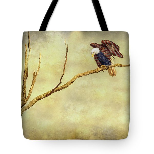 Tote Bag featuring the photograph American Freedom by James BO Insogna