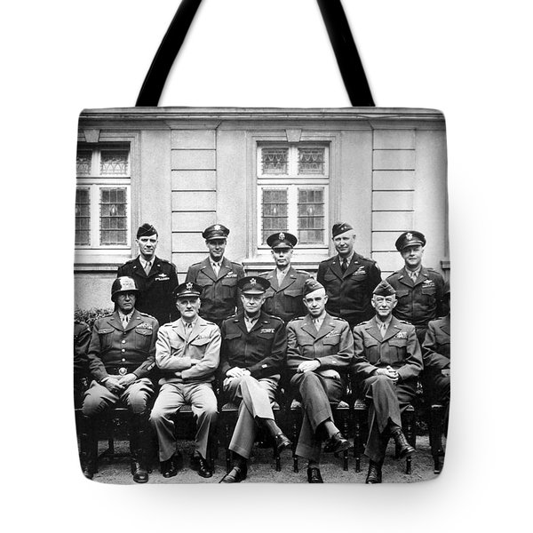 American Generals Wwii  Tote Bag by War Is Hell Store