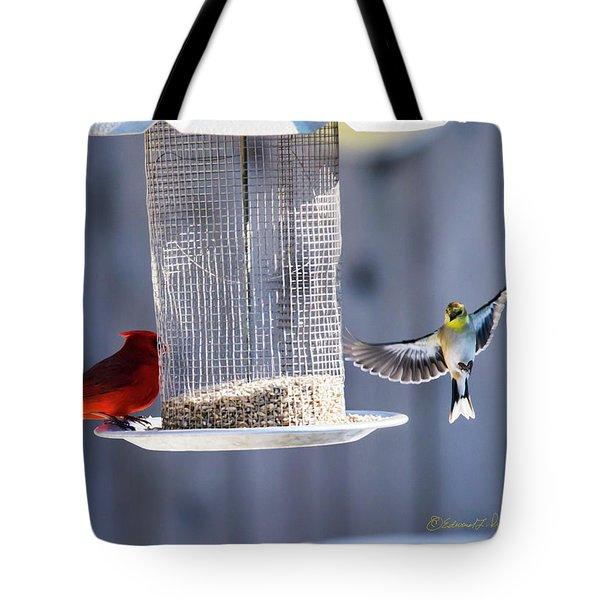 American Goldfinch Inbound Tote Bag