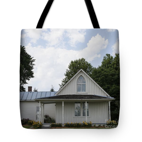 American Gothic House Tote Bag