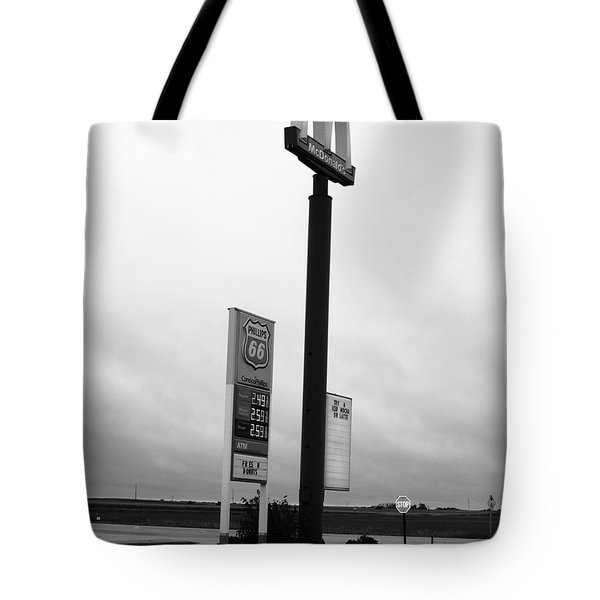 Tote Bag featuring the photograph American Interstate - Illinois I-55 by Frank Romeo