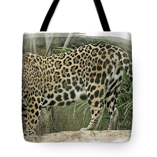 American Jaguar 18 Tote Bag