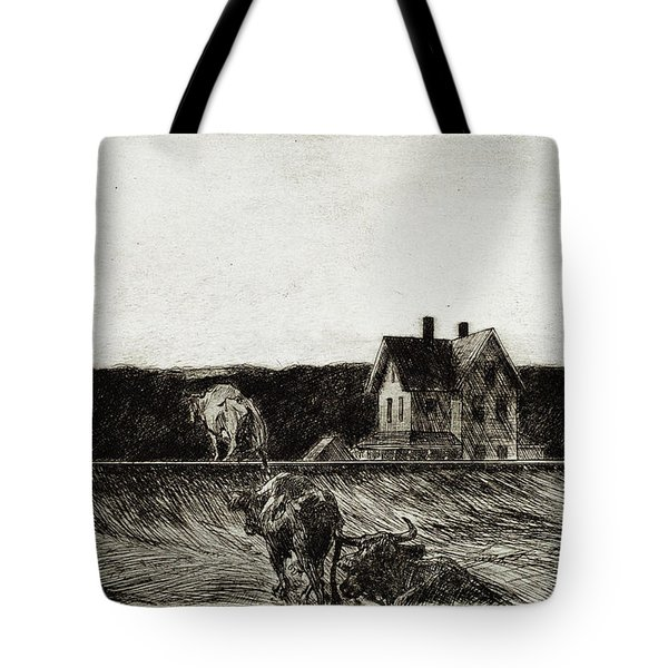 American Landscape Tote Bag