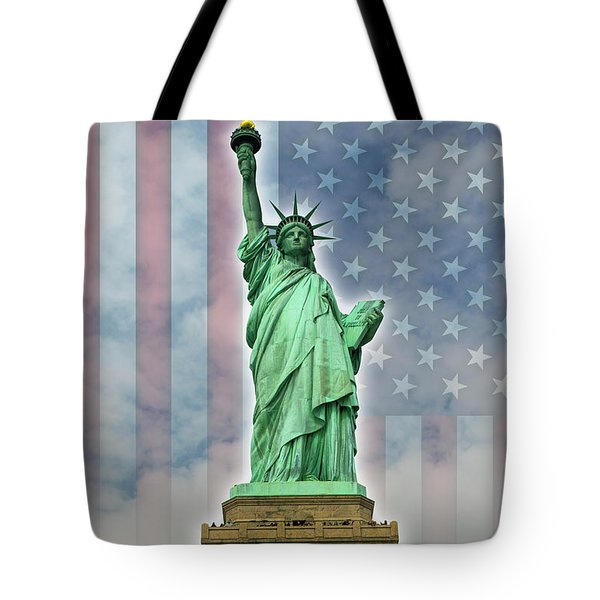 American Liberty Tote Bag by Timothy Lowry