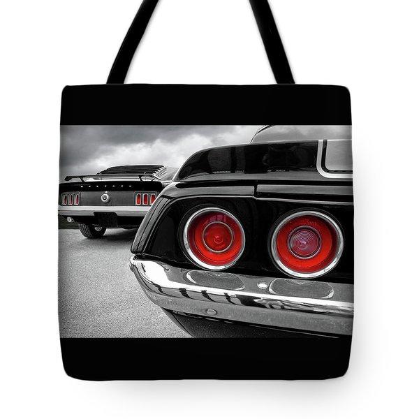 American Muscle Tote Bag
