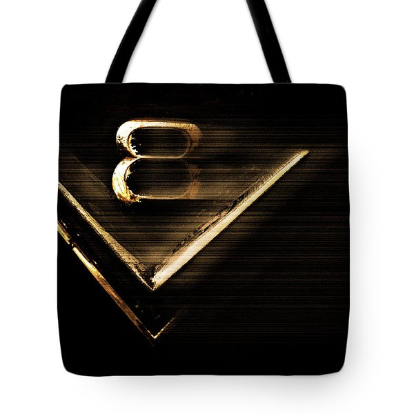 American Muscle V8 Tote Bag
