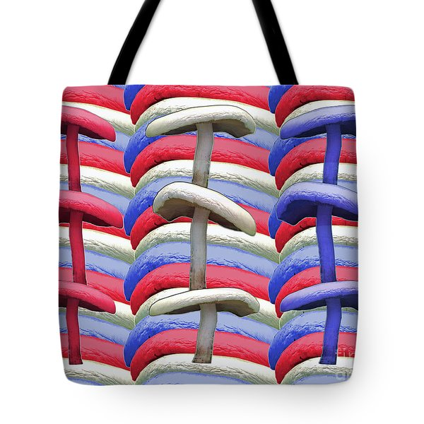 American Mushrooms Tote Bag