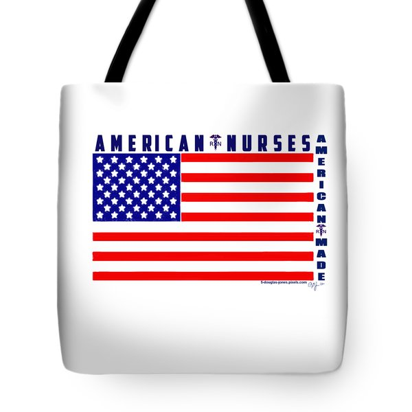 American Nurses Tote Bag