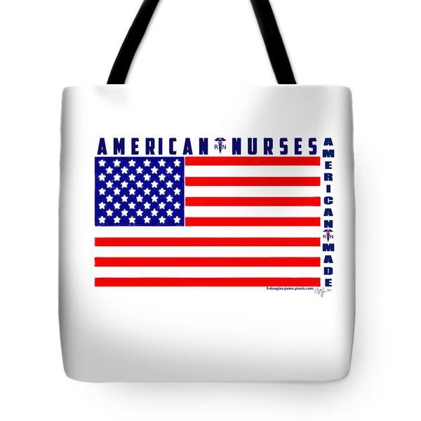American Nurses Tote Bag